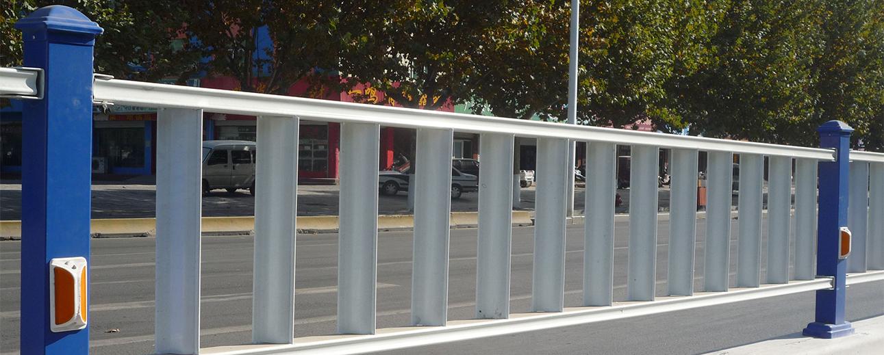 常州交通護欄安裝案例