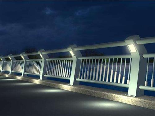 常州城市道路護欄-燈光橋梁護欄