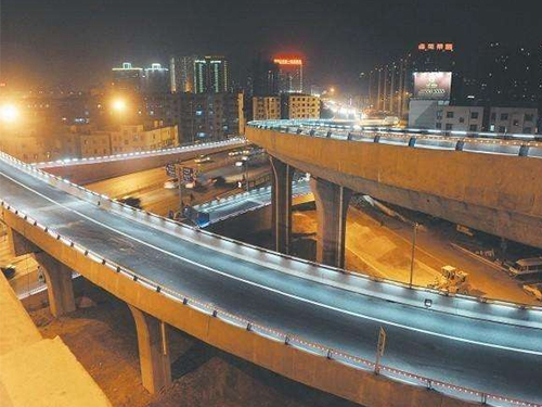 常州道路防撞護欄-燈光橋梁護欄